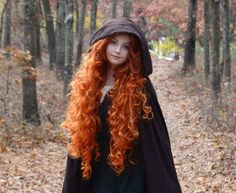 Amazing redhead ginger curls!  Looks like Merida from Brave!