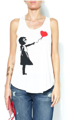 Cute Girl with a balloon Tank http://rstyle.me/n/fmvzrr9te