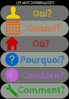 Interrogatifs #french Pourquoi