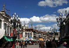 Barkhor is the busiest commercial street in Lhasa and also the most popular place among tourists. (http://www.tibettravel.org/tibet-travel-guide/barkhor-street.html)