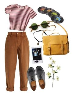 music vintage by julietteisinthe80s on Polyvore featuring polyvore, Miu Miu, Dr. Martens, Toast, vintage, fashion, style and clothing