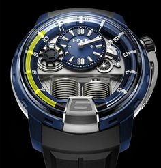 HYT Watches H1 Alumen Blue