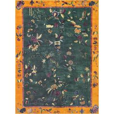 Early 20th Century Chinese Rug | From a unique collection of antique and modern chinese and east asian rugs at https://www.1stdibs.com/furniture/rugs-carpets/chinese-rugs/