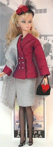 """Around The World - Travel Ensembles Travel Suits. It's a World of Fashion for the """"Girl on the Go"""""""