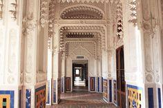 corridoio bianco castello di sammezzano