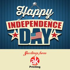 Happy independence Day America! Greetings from AK Printing, your #1 online one stop printing shop! Nobody does it better like AK Printing! Shop now @ akprints.com for all your printing needs!  #akprinting #July4th #4thofJuly2015 #happyindependenceday