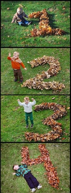 (If I have a child born in the fall) I will do this every year on their birthday :)