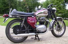 BSA 500 - Birmingham Small Arms or Bits Stuck Anywhere but better than a Harley anyday.