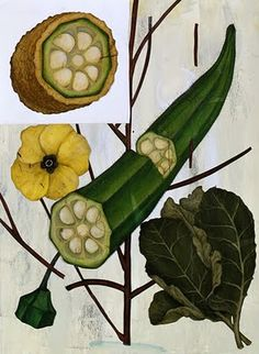 Southern Comfort, by Jason Holley. He doesn't care much for okra though he illustrates it so beautifully.