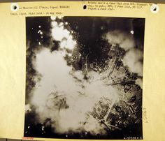 Page upon page of pictures documenting the firebombing of Japanese cities from the US National Archive via the link. Manhattan Project, Still Picture, National Archives, Hiroshima, Tokyo Japan, Oak Ridge, Stamp, Japanese, Cities
