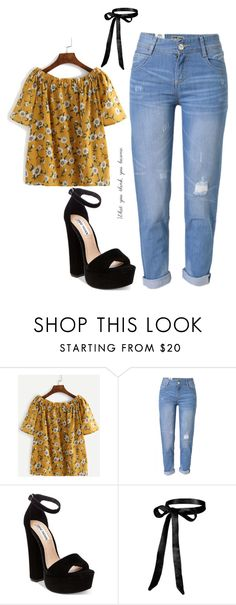 """""""Untitled #10"""" by ryanelizabeth0 on Polyvore featuring WithChic and Steve Madden"""