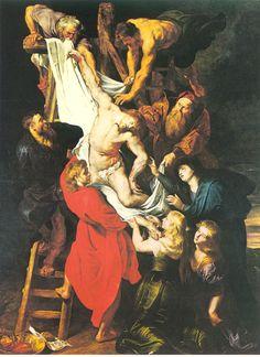 erección de la cruz van dyck ca