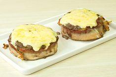 Para quem ama BACON!! uma receita de cestinha de carne com ovo e bacon que fica maravilhosa e é muito prática de fazer.