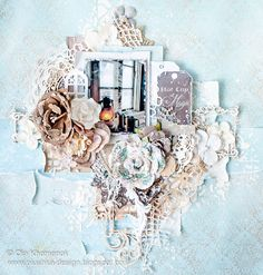 LikeArtStudio by Ola Khomenok: Winter Magic. Layout for Scrap&Craft DT.