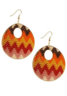 #12 go to modcloth accessory....i LOVE these earrings...wear them all the time!  #modcloth #makeitwork