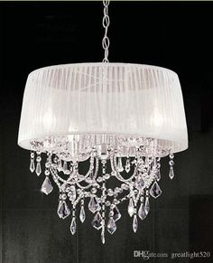 Cheap lampshade chandelier, Buy Quality crystal chandelier directly from China modern crystal chandelier Suppliers: 14 color lampshade chandelier fabric lampshade modern crystal chandeliers Lampshade Chandelier, Cheap Chandelier, Fabric Lampshade, Chandelier Shades, Crystal Lights, Crystal Chandelier Lighting, French Country Chandelier, Solar Light Crafts, Entryway Lighting