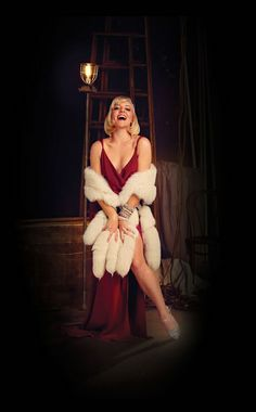 Helene Yorke as Olive in the upcoming musical Bullets Over Broadway.  Bullets Over Broadway opens for previews at the St. James Theater on March 11!