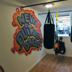 """""""Never Quit Your Dreams""""At fitness Pedersen - Vesterbro, Copenhagen - By Jacob Bjørk"""