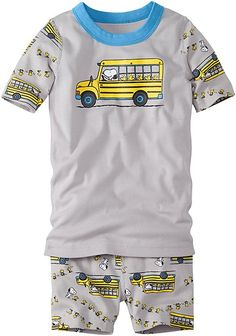 Peanuts Short John Pajamas In Organic Cotton | Camp Beagle Girls