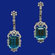 Artemisia's Royal Jewels: British Royal Jewels: Queen's Brazilian Aquamarine Parure and Tiara