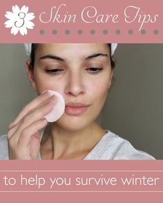 Protect your skin all winter long with these 3 natural skin care tips: http://www.ehow.com/ehow-style/blog/3-skin-care-tips-to-help-you-survive-winter/?utm_source=pinterest.com&utm_medium=referral&utm_content=blog&utm_campaign=fanpage