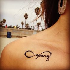forever young tattoo