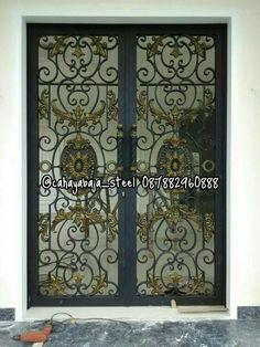 CAHAYA BAJA STEEL ( WhatsApp 087882960888 ) #besi #tempa #klasik #pagar #pintu #pintuklasik #balkon #railing #tangga #pintubesi #gerbang #tanggalayang #tralis #kanopi #bengkel #bengkellas #besitempa #besitempajakarta #interior #exterior #arsitektur #railingtangga #pintugerbang #pagarklasik #wroughtiron #gate #fance #iron #balcony #stair #ironwork #handmade #ornamen #ornamencoralluminium #ornamenbesitempa #ornamentcastiron #kontruksi #rumahklasik #design #meubel