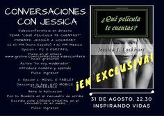 www.jessicajlockhart.eventbrite.com www.jessicajlockhart.com #jessicajlockhart #jessicalockhart #humanología #coachingenoptimismo #quépelículatecuentas