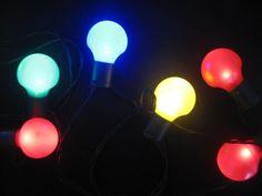 Oświetlenie ogrodowe 20 LED Polandi Led, Lava Lamp, Light Bulb, Table Lamp, Home Decor, Light Garland, Color, Weddings, Table Lamps