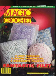 What Happened to Magic Crochet Magazine?    I got this somewhere on the post of one of my crochet groups and there was the P on the page , so wanted to PIN this here for others to see in hopes people  would write in to her page, maybe all together we can help get them to start the magazines back up.    read my post it won't all go in here.