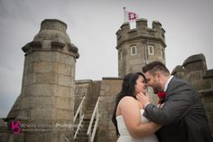 Pendennis Castle Wedding - Lauren & Andy