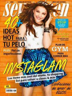 Chloë Grace Moretz, Seventeen Magazine [Argentina] (March 2014)