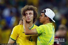 巴西遭德國狂轟止步四強 眾將潰敗垂頭喪氣