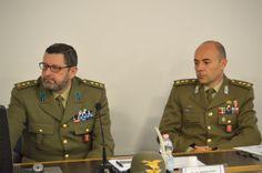 Colonnello Bubbio Massimo e colonnello Fabretti Alessandro