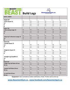 body beast build back biceps worksheet entra nement pinterest body beast biceps and bodies. Black Bedroom Furniture Sets. Home Design Ideas