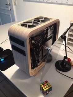 Ditch the Aluminum for an Elegant Wooden Computer Enclosure