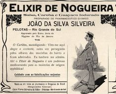 Iba Mendes: Anúncios antigos do Elixir de Nogueira