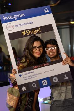 #sarfie at the Launch Event of AuraStudio.in
