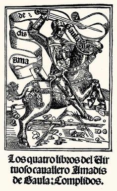 Los cuatro libros caballero Amadís de Gaula