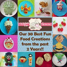 Our 2 Year Blog Anniversary with 30 of our Best Fun Food Creations! - Kitchen Fun With My 3 Sons