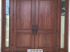 wp_133 Wooden Double Doors, Center Park, Delray Beach, Wood Doors, Solid Wood, Home Decor, Wooden Doors, Wood Gates, Interior Design