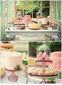 i <3 dessert tables