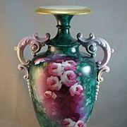 Museum quality CAC/Lenox American Belleek Vase - Marsh