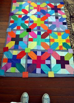 gemini stitches: stash busting bright solid x and +
