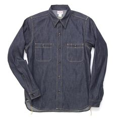 The Real McCoy's - Selvage Denim Shirt Lot.132S