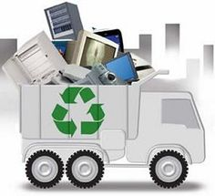 E waste Transportation To The Recycling Facility