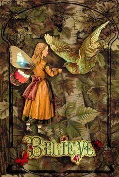 Believe in Fairies by Romany Soup