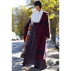 #LauraComolli looking gorgeous in total look Stella Jean Fall Winter 2016-2017  #StellaJean #FW16 #FallWinter16 #EthicalFashion #EthicallyEnvisioned