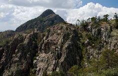 Mt. Wrightson from the Crest Trail, Santa Rita Mtns, AZ