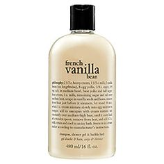 Philosophy - French Vanilla Bean. 2 of my FAVORITE things...Philosophy product and Vanilla!!